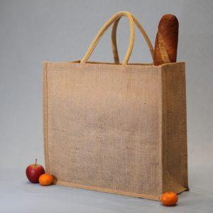 Jute tas, Onbedrukt. Jute bag, Unprinted